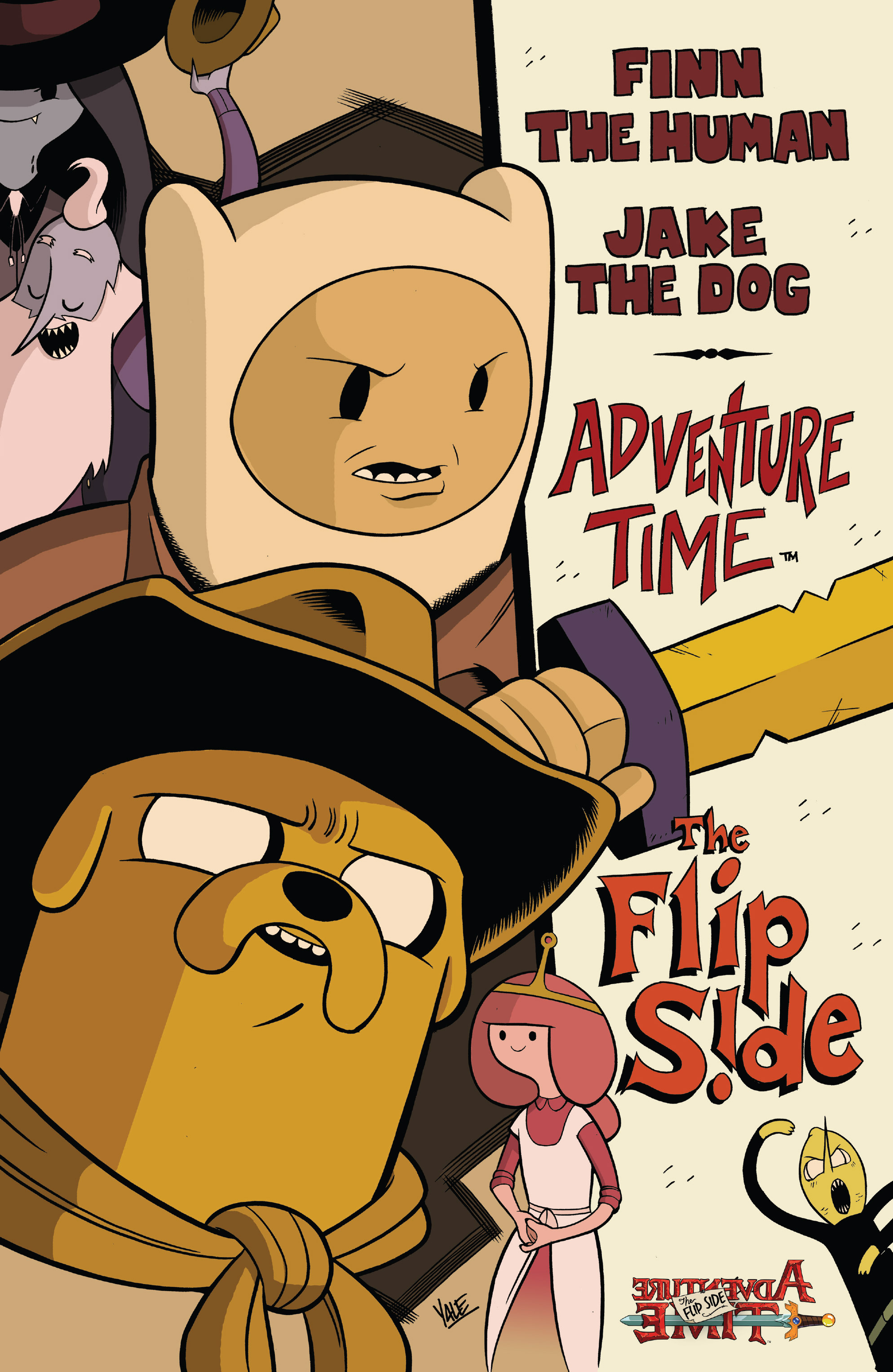 Read online Adventure Time: The Flip Side comic -  Issue #5 - 3