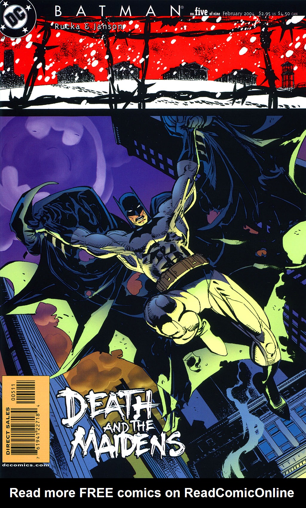 Batman: Death and the Maidens 5 Page 1
