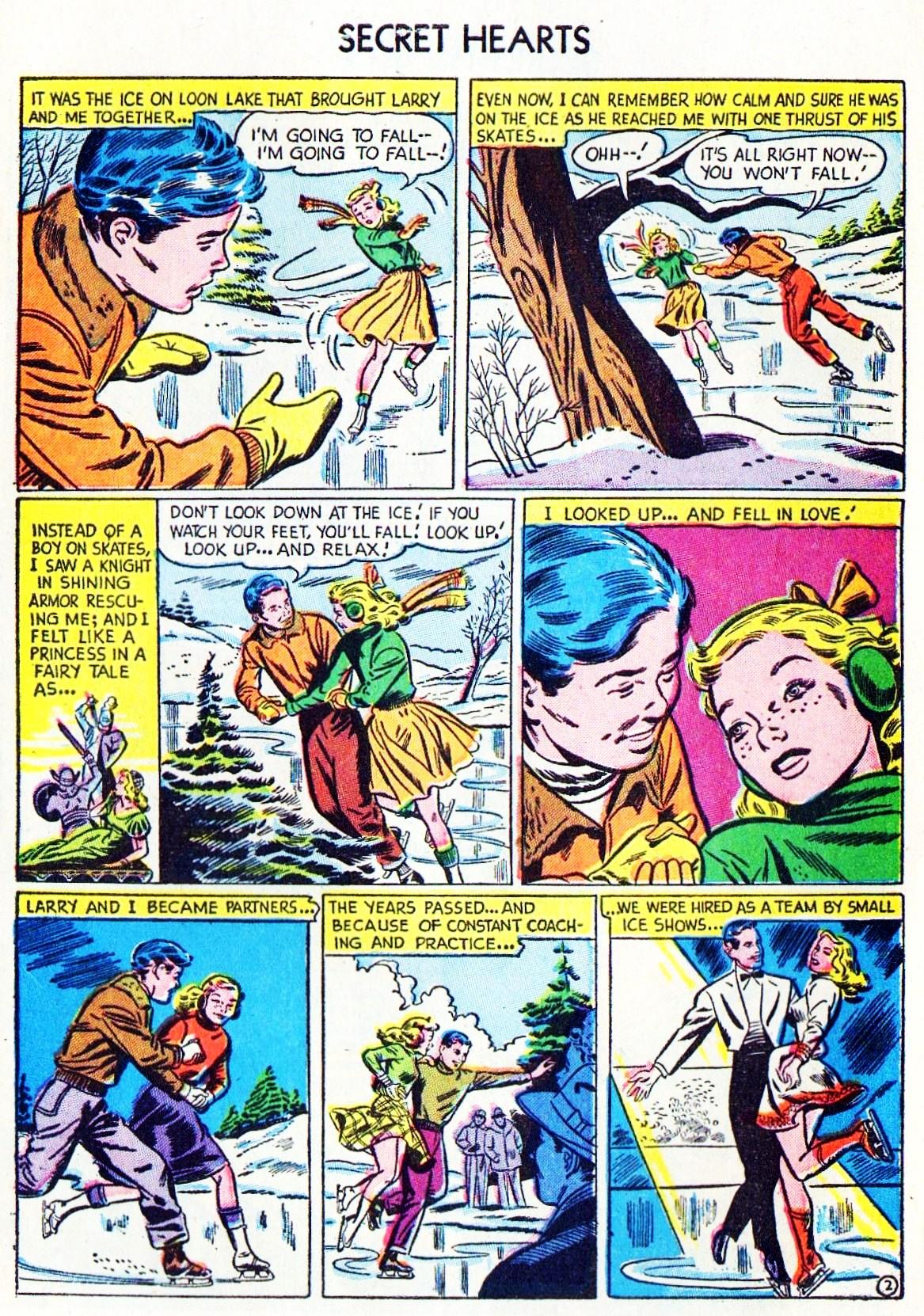 Read online Secret Hearts comic -  Issue #15 - 27