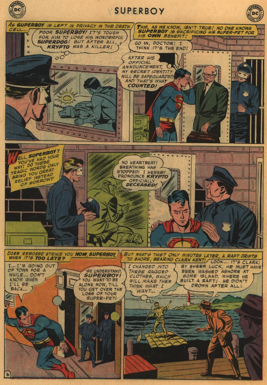Superboy (1949) issue 67 - Page 17