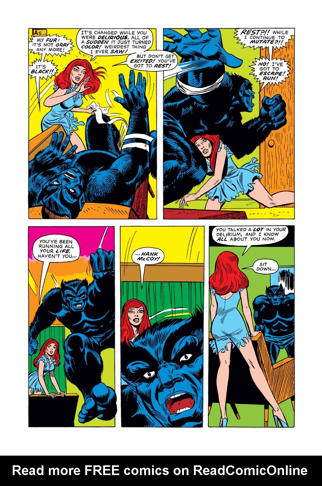 Read online Amazing Adventures (1970) comic -  Issue #15 - 5