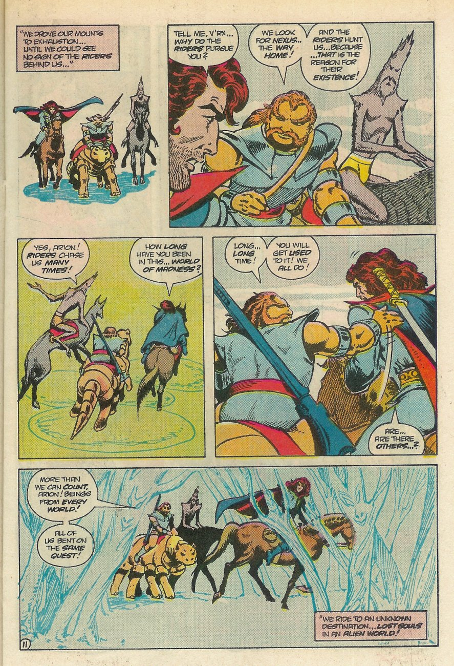 Read online Arion, Lord of Atlantis comic -  Issue #25 - 12