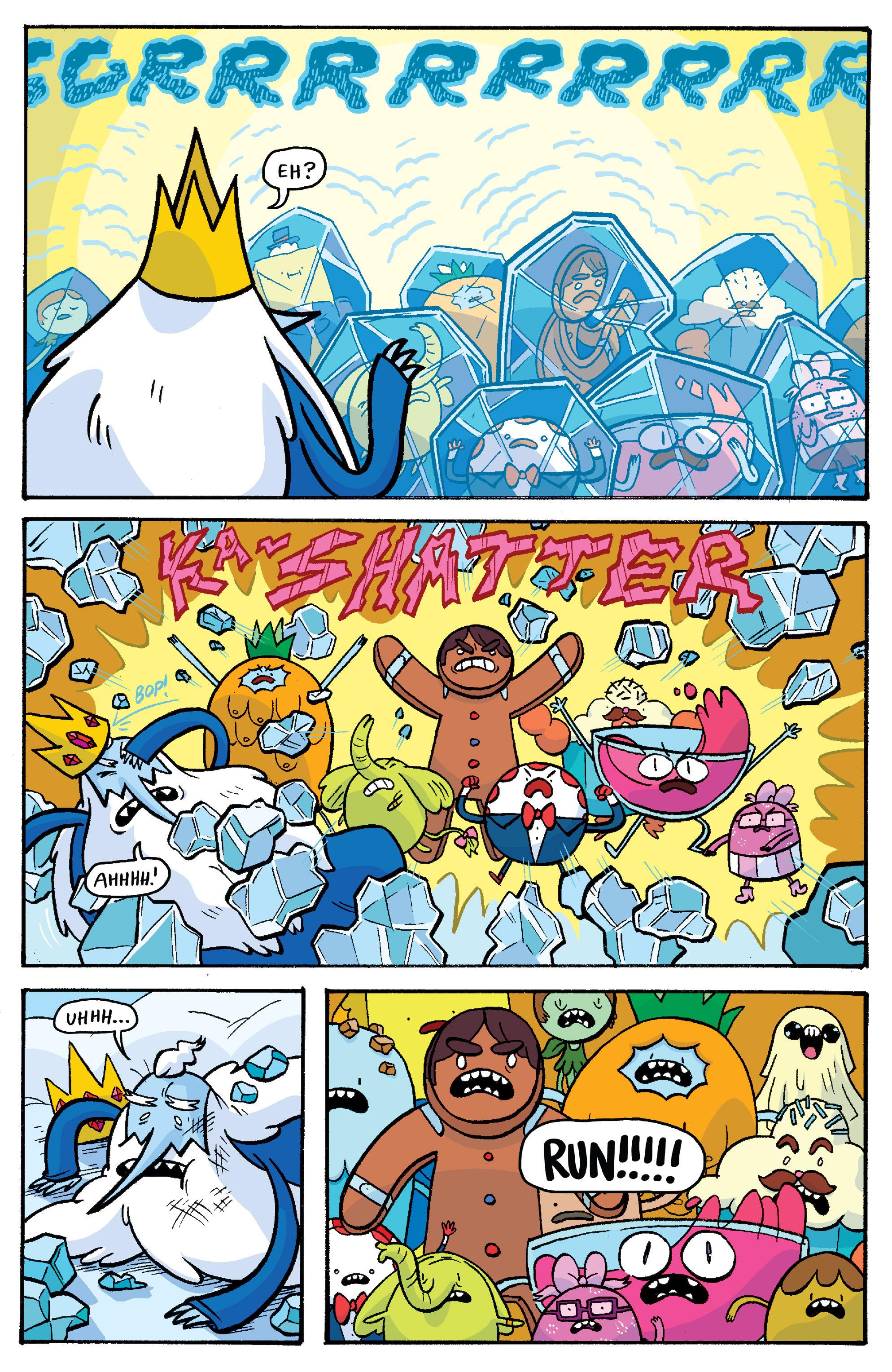 Read online Adventure Time: Banana Guard Academ comic -  Issue #3 - 21