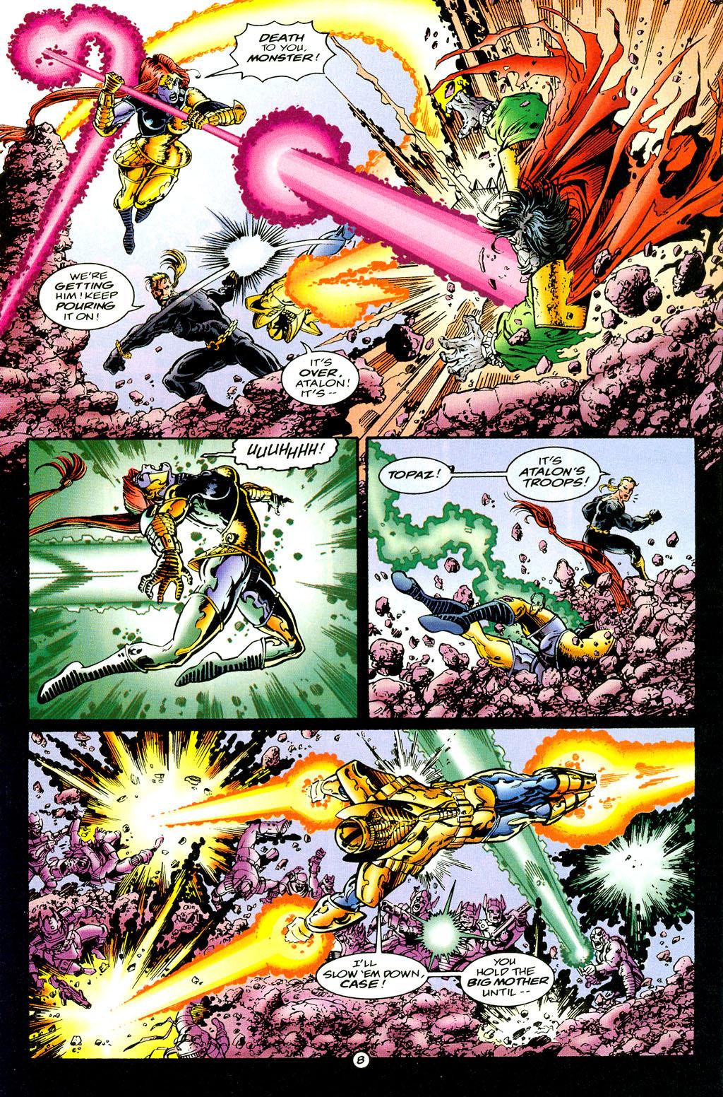 Read online UltraForce (1994) comic -  Issue #6 - 8