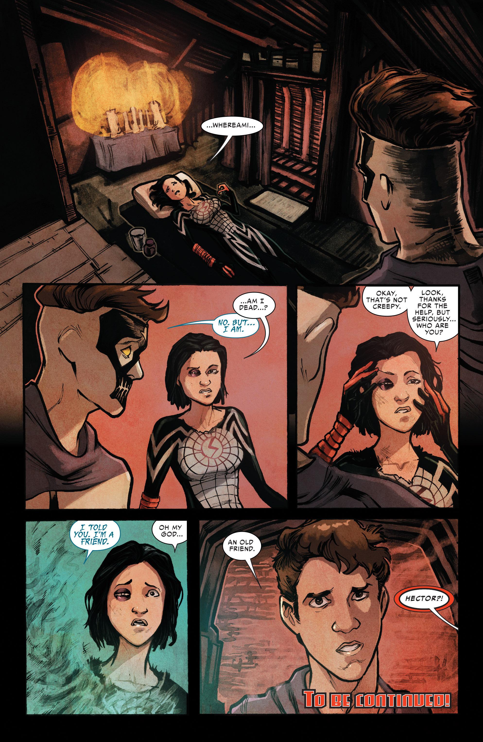 Read online Silk (2016) comic -  Issue #10 - 22