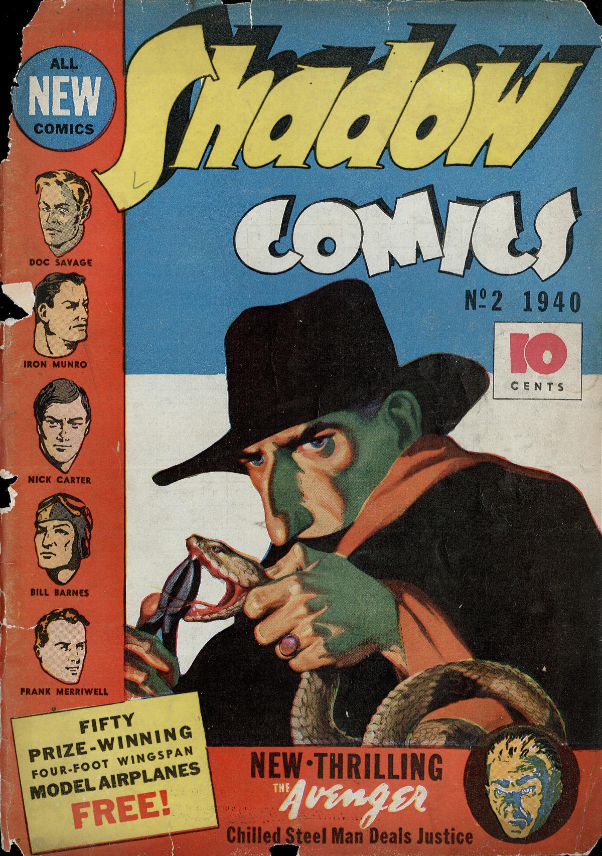 Read online Shadow Comics comic -  Issue #2 - 1