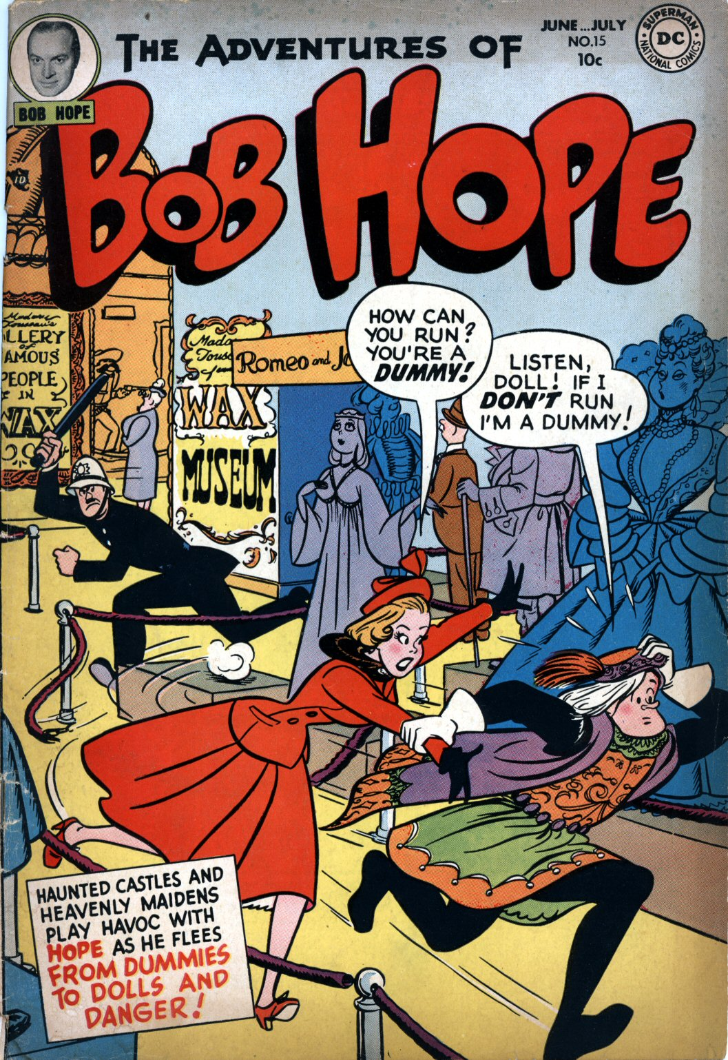 The Adventures of Bob Hope issue 15 - Page 1