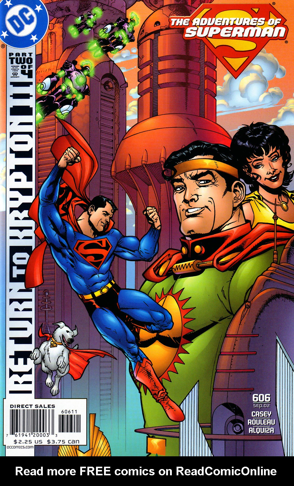 Read online Adventures of Superman (1987) comic -  Issue #606 - 23