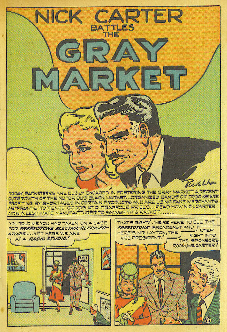 Read online Shadow Comics comic -  Issue #87 - 24
