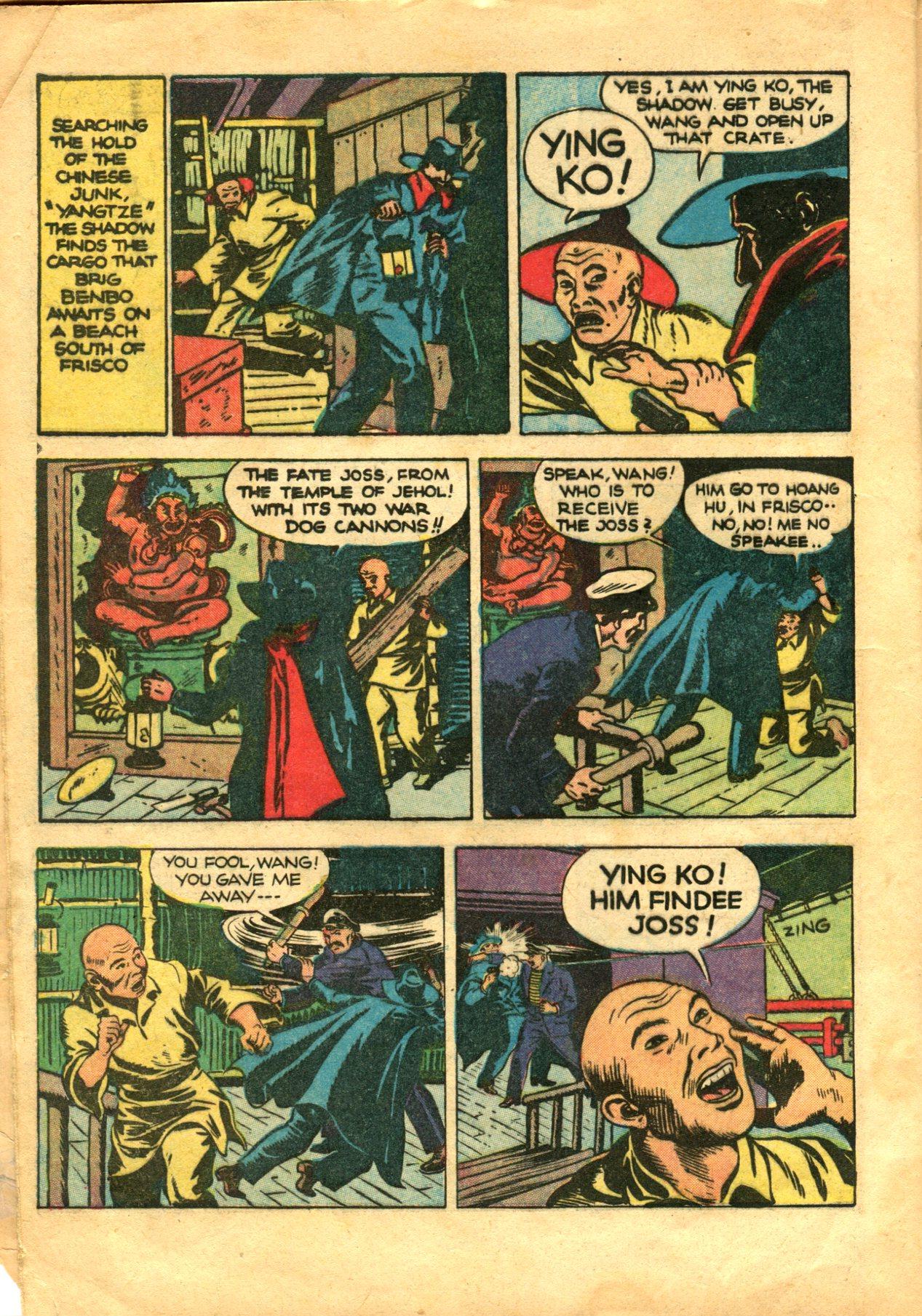 Read online Shadow Comics comic -  Issue #10 - 6