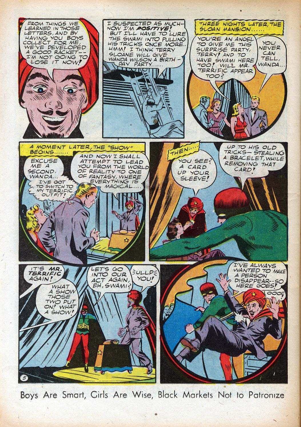 Read online Sensation (Mystery) Comics comic -  Issue #33 - 38