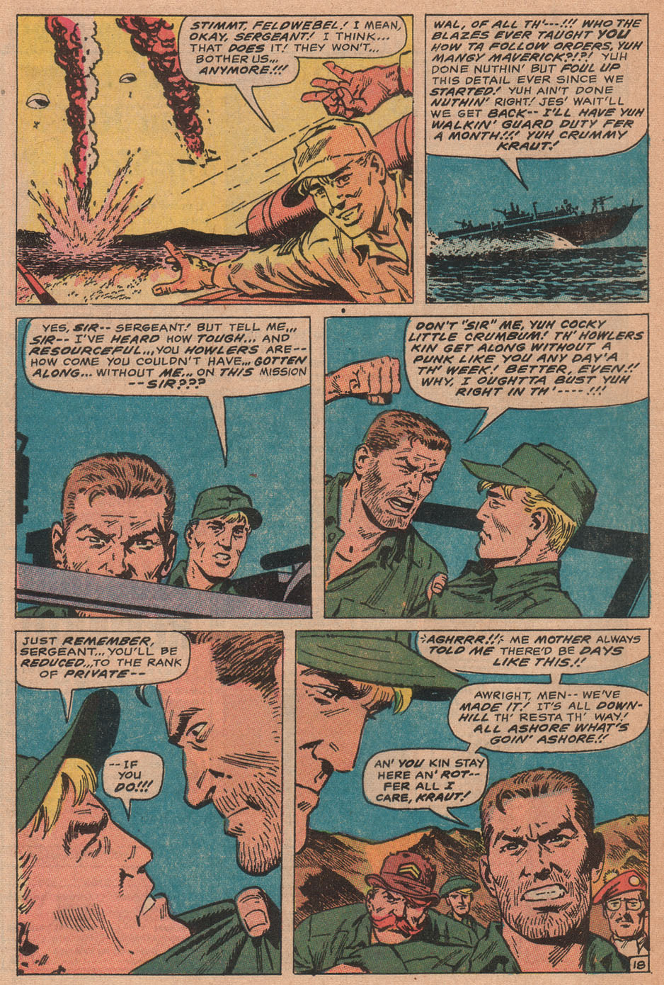Read online Sgt. Fury comic -  Issue #77 - 28
