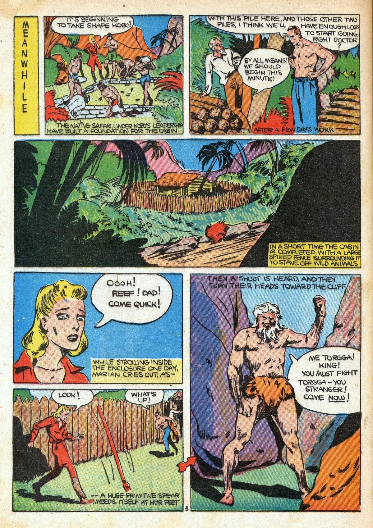 Read online Amazing Man Comics comic -  Issue #16 - 54