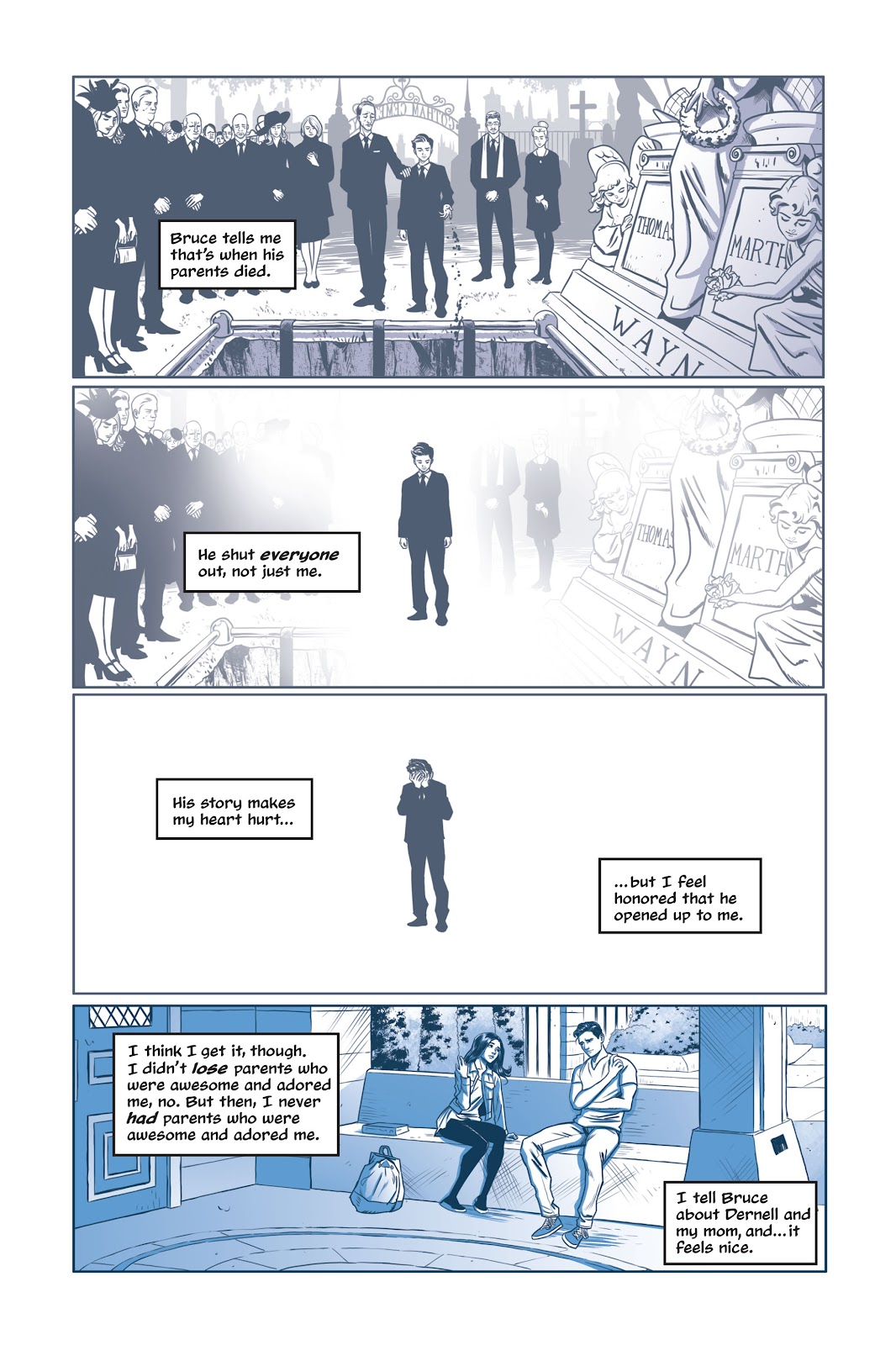 Read online Under the Moon: A Catwoman Tale comic -  Issue # TPB (Part 1) - 56