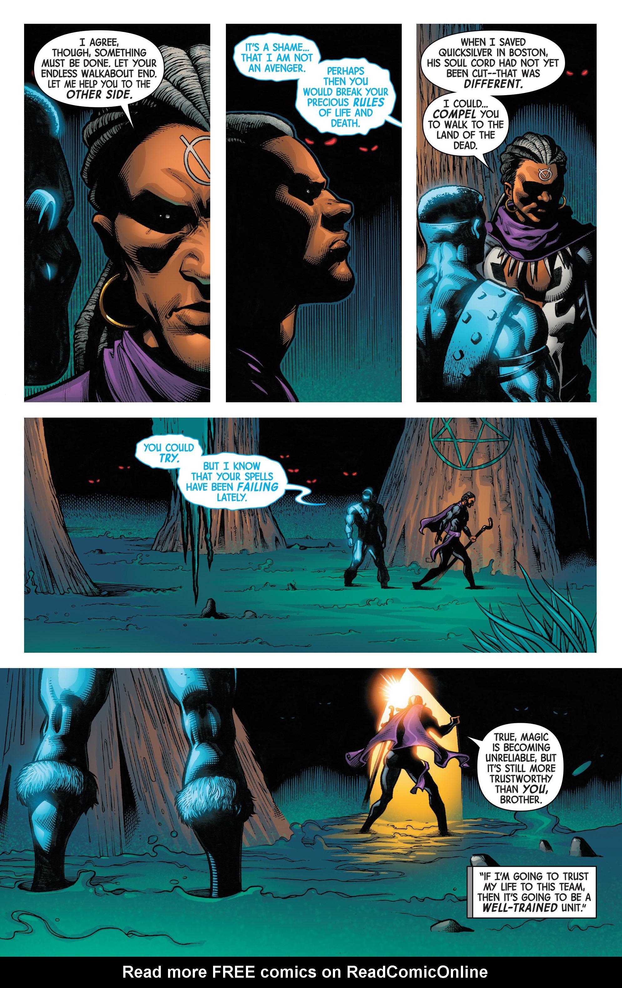 Read online Uncanny Avengers [II] comic -  Issue #7 - 5