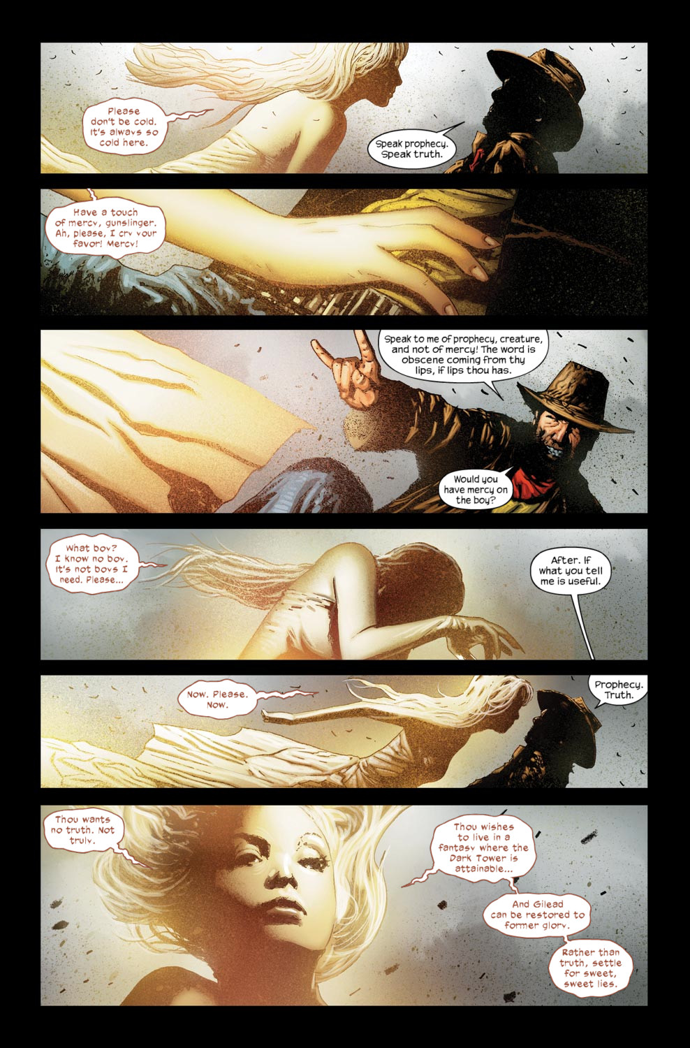 Read online Dark Tower: The Gunslinger - The Way Station comic -  Issue #5 - 12