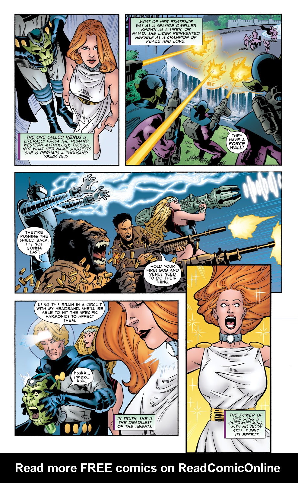 Read online Agents Of Atlas (2009) comic -  Issue #0 - 7