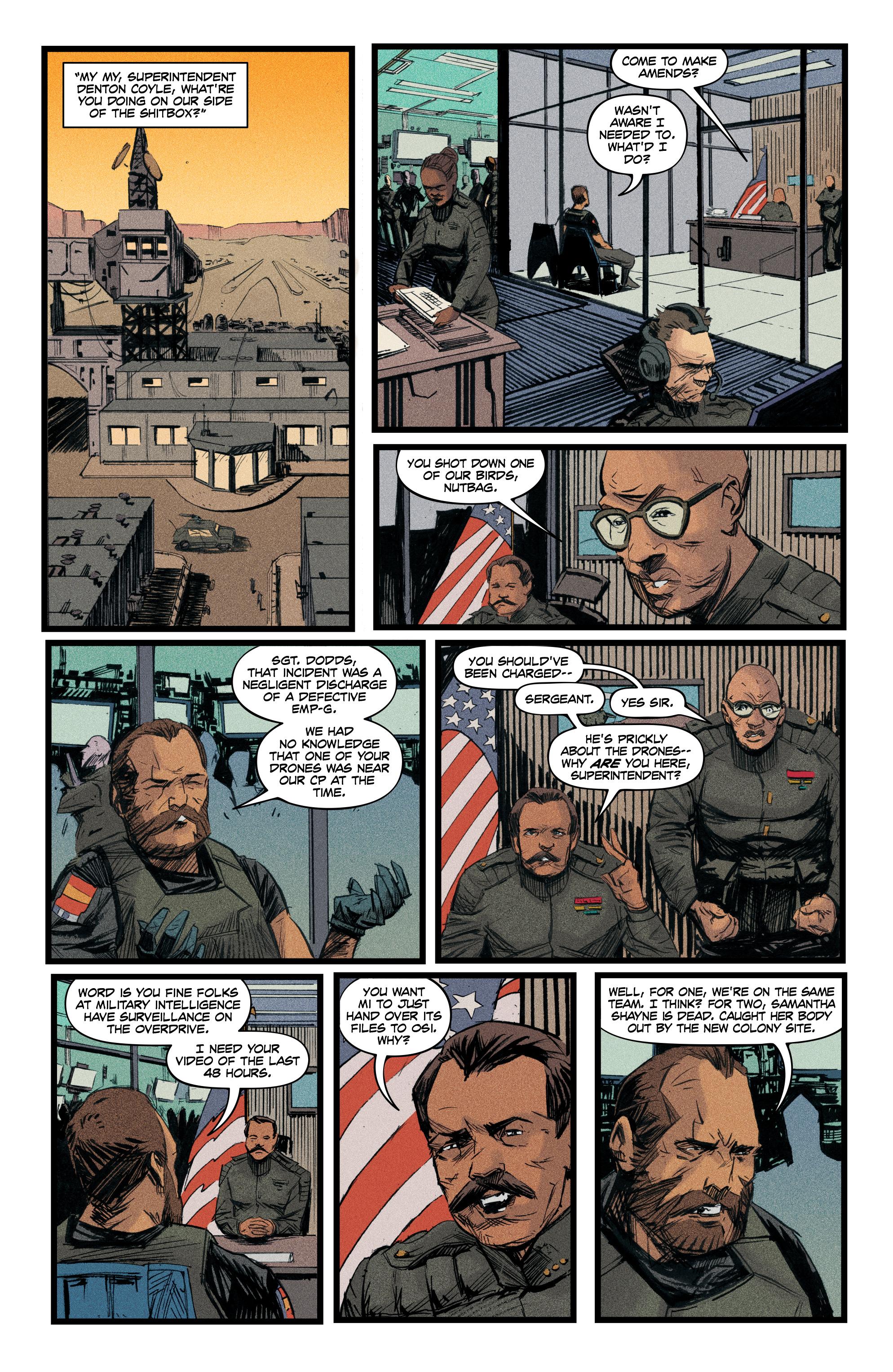 Read online Redline comic -  Issue #4 - 12