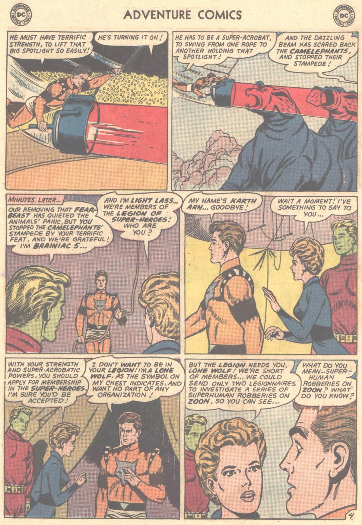 Read online Adventure Comics (1938) comic -  Issue #327 - 5
