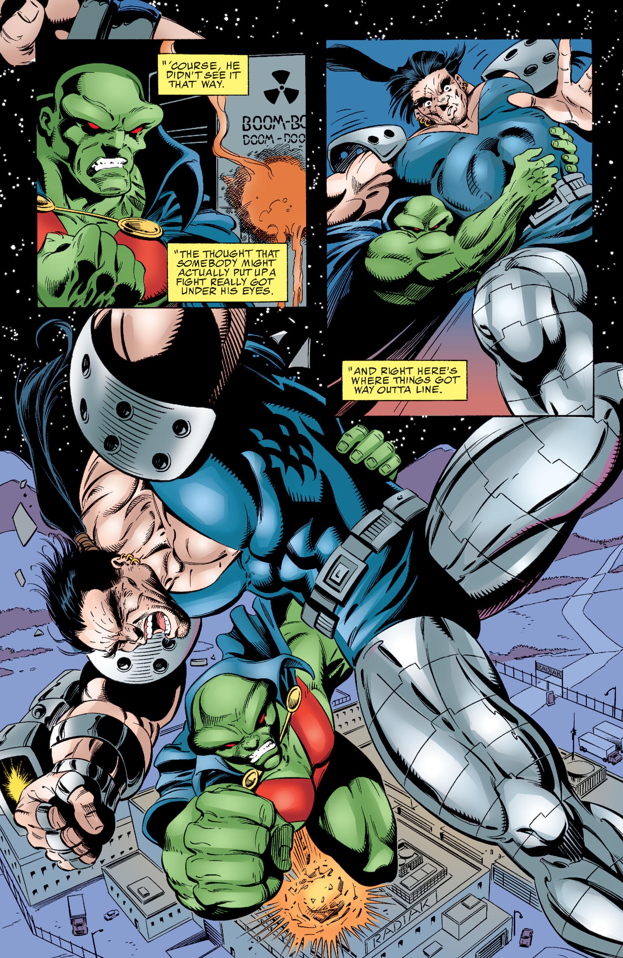 Read online Martian Manhunter: Son of Mars comic -  Issue # TPB - 124