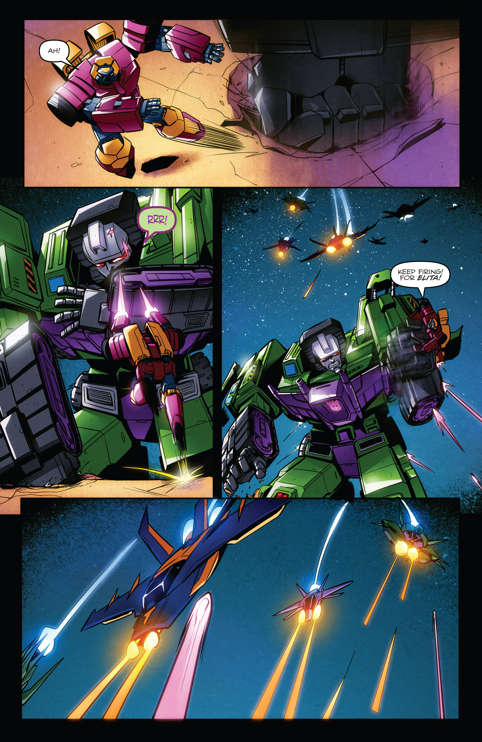 Read online Transformers: Till All Are One comic -  Issue #7 - 10