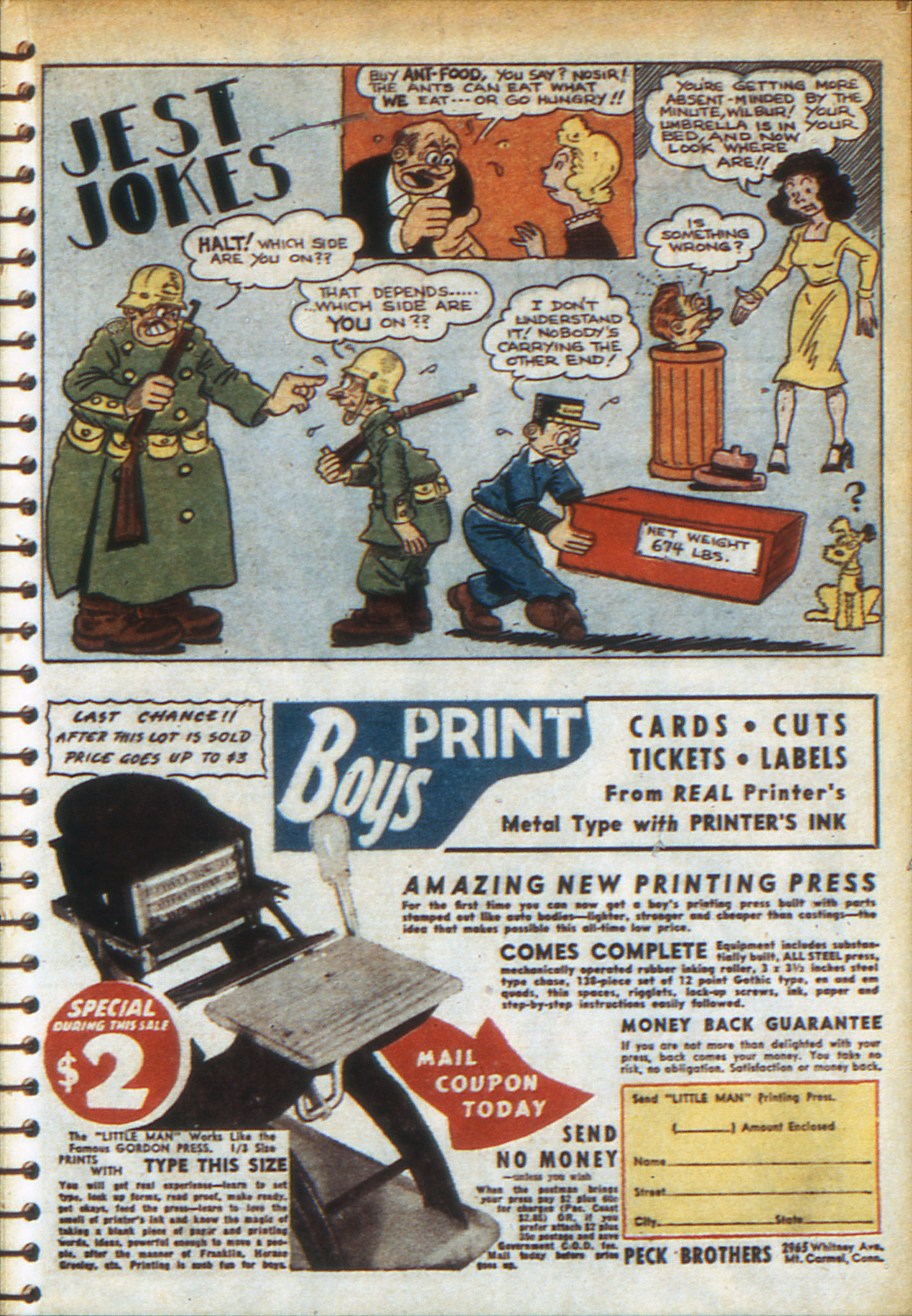 Read online Adventure Comics (1938) comic -  Issue #49 - 35