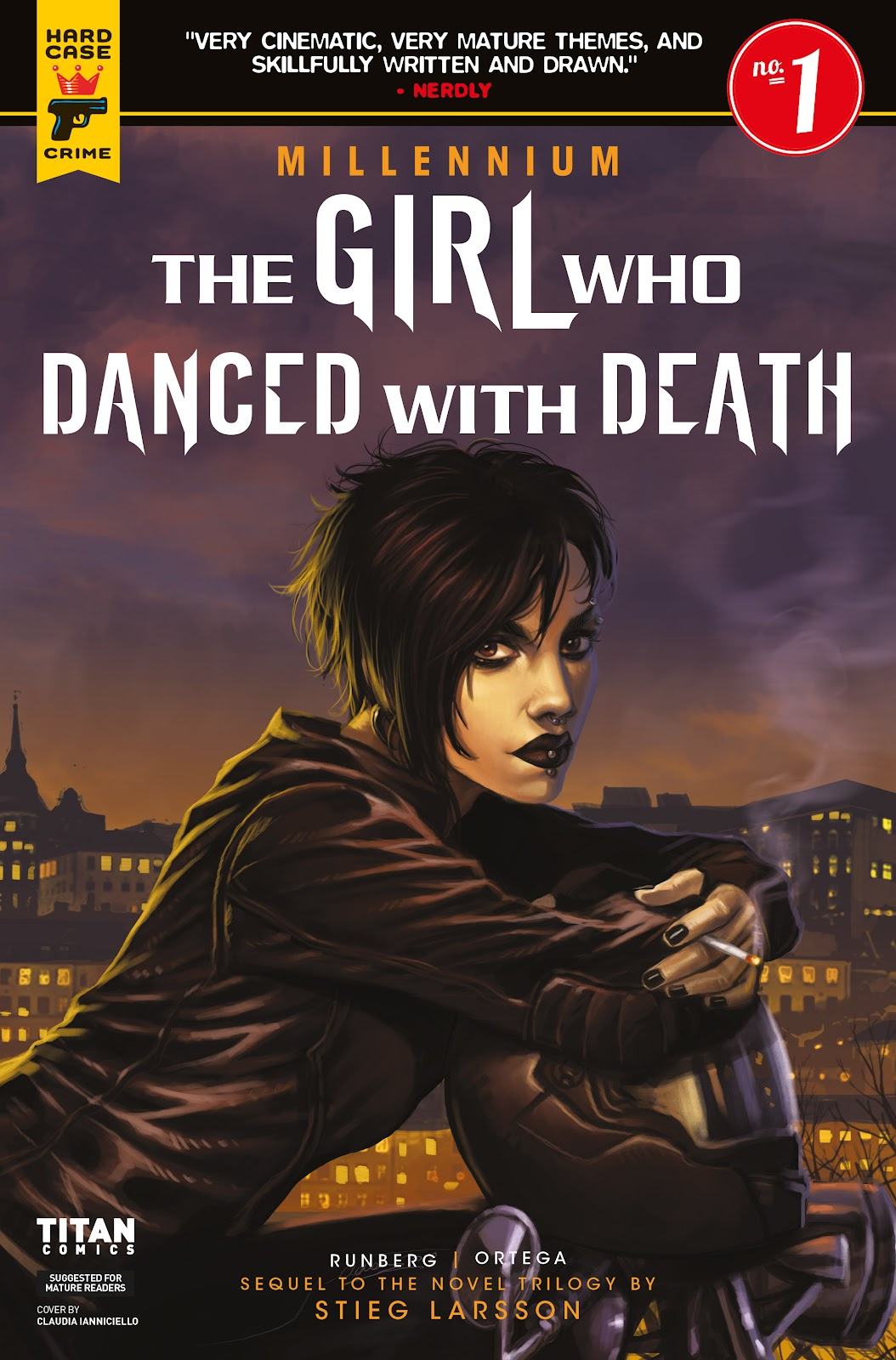 Read online Millennium: The Girl Who Danced With Death comic -  Issue #1 - 1