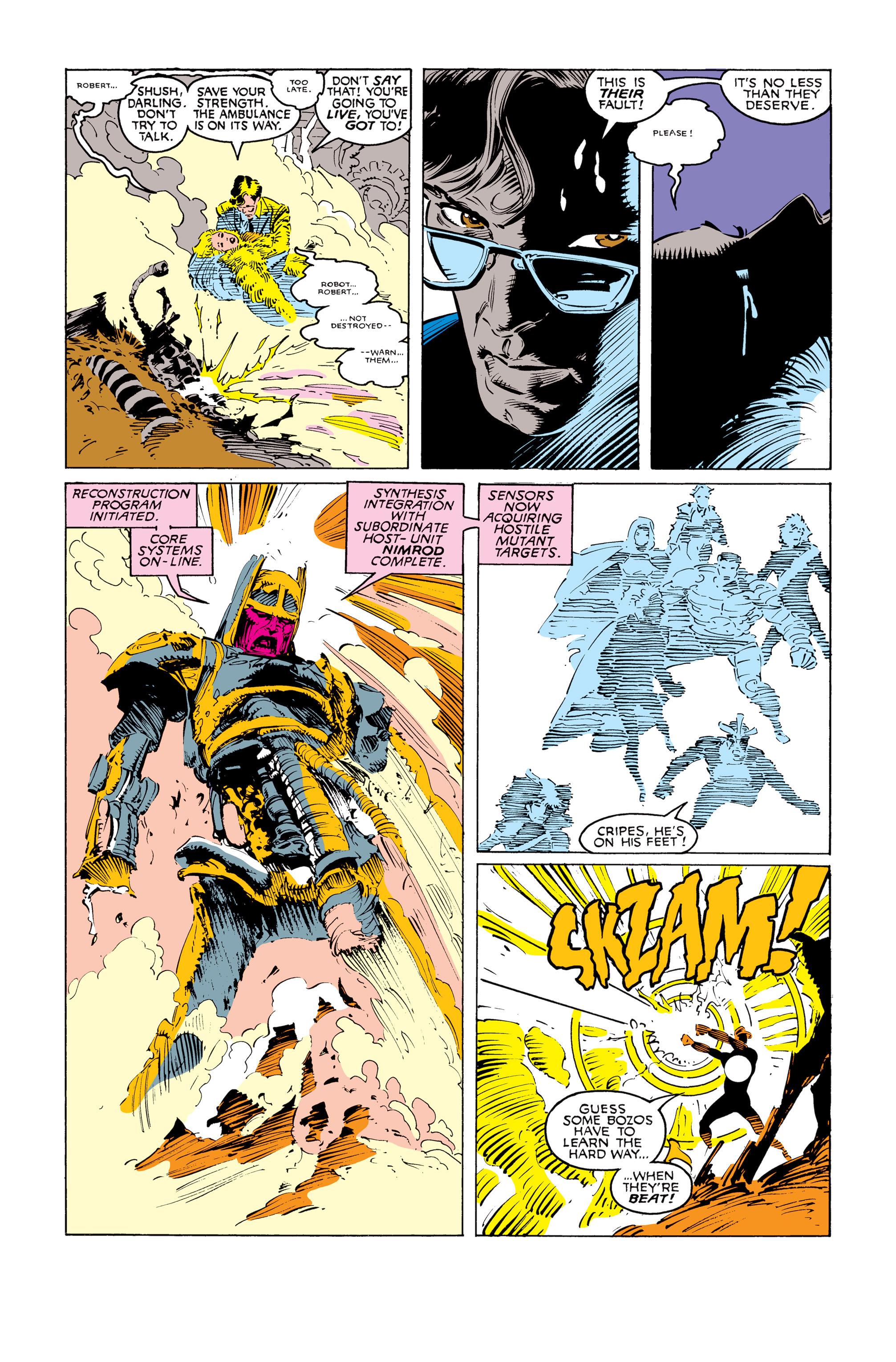 Read online Uncanny X-Men (1963) comic -  Issue #247 - 12