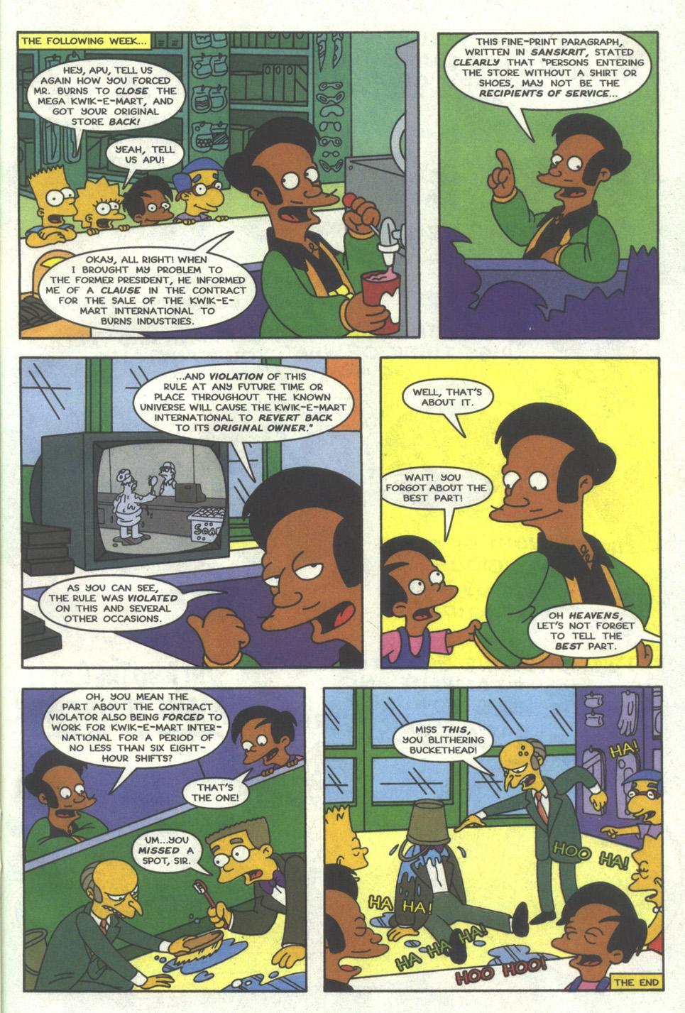Read online Simpsons Comics comic -  Issue #22 - 22