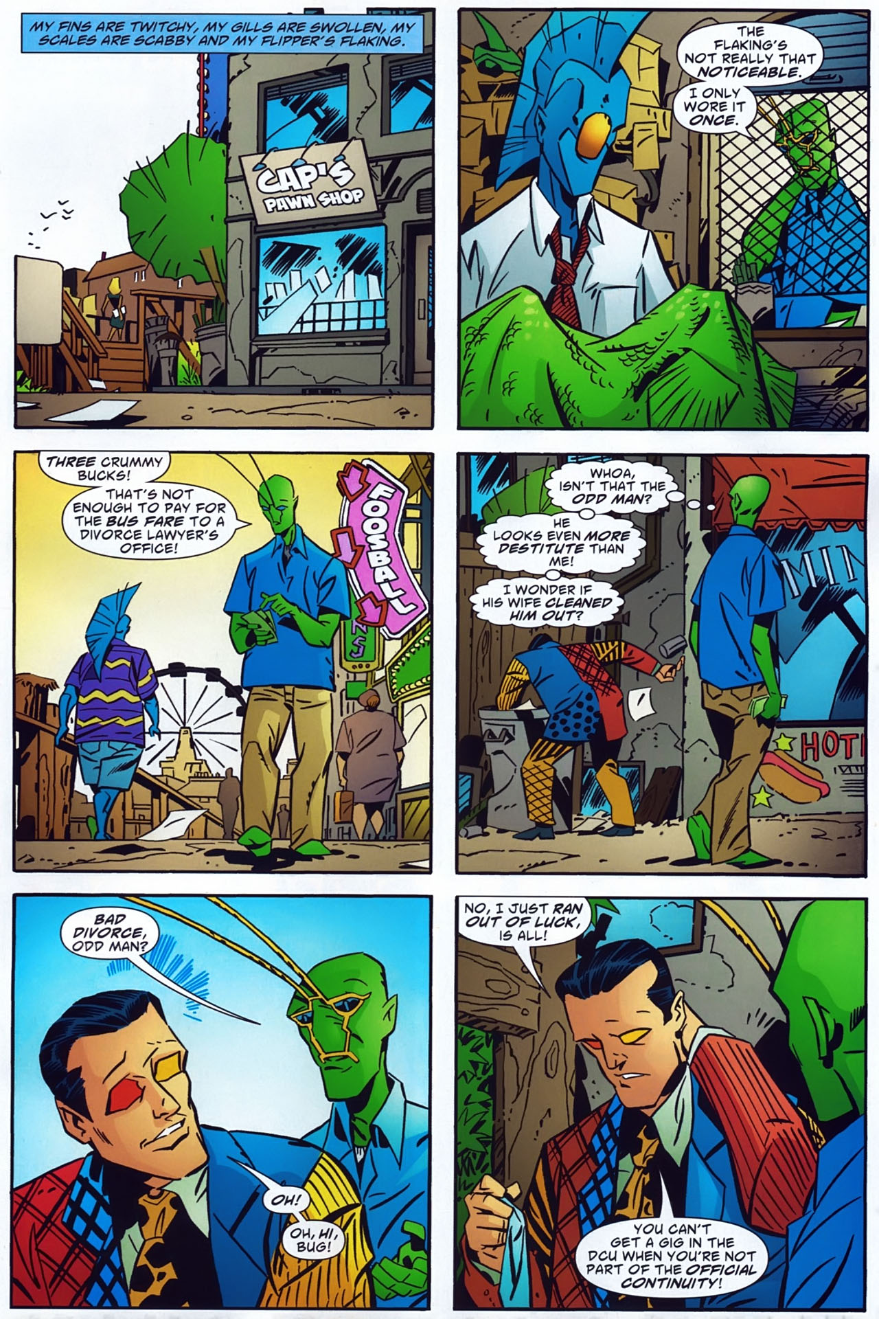 Read online Ambush Bug: Year None comic -  Issue #3 - 20