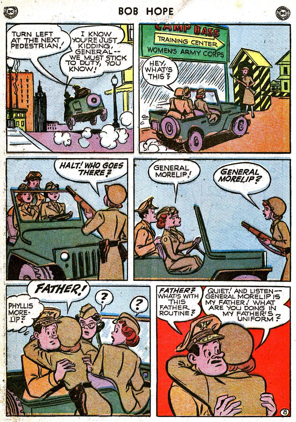 The Adventures of Bob Hope issue 8 - Page 10