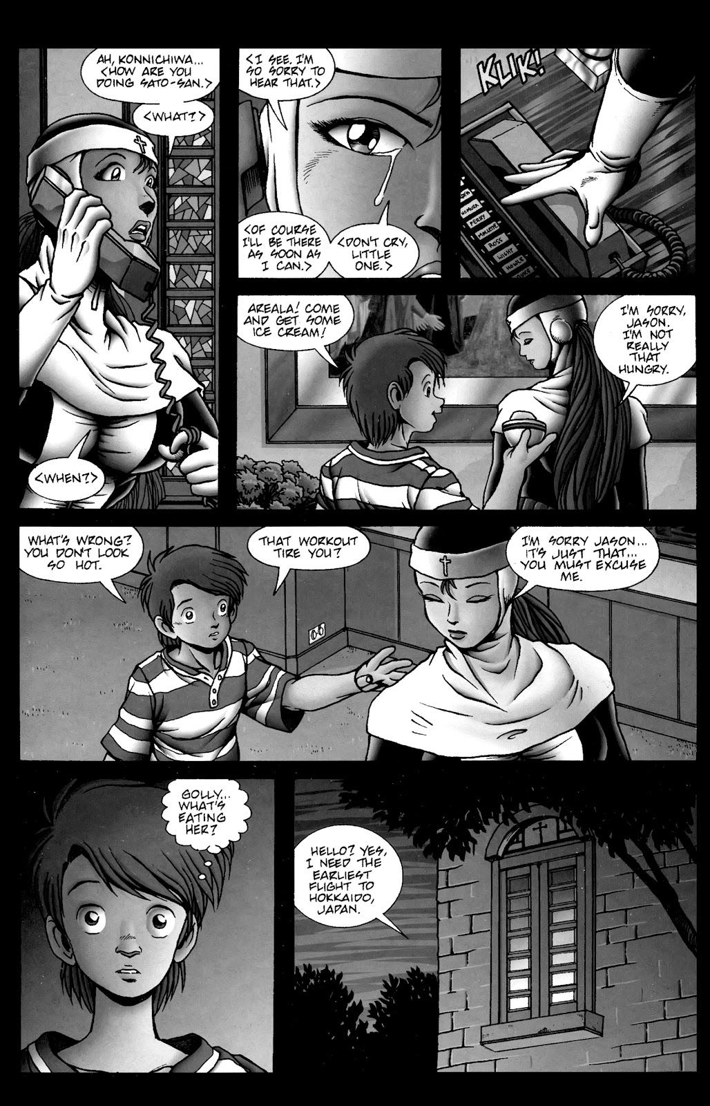 Warrior Nun Areala:  Dangerous Game Issue #3 #3 - English 19