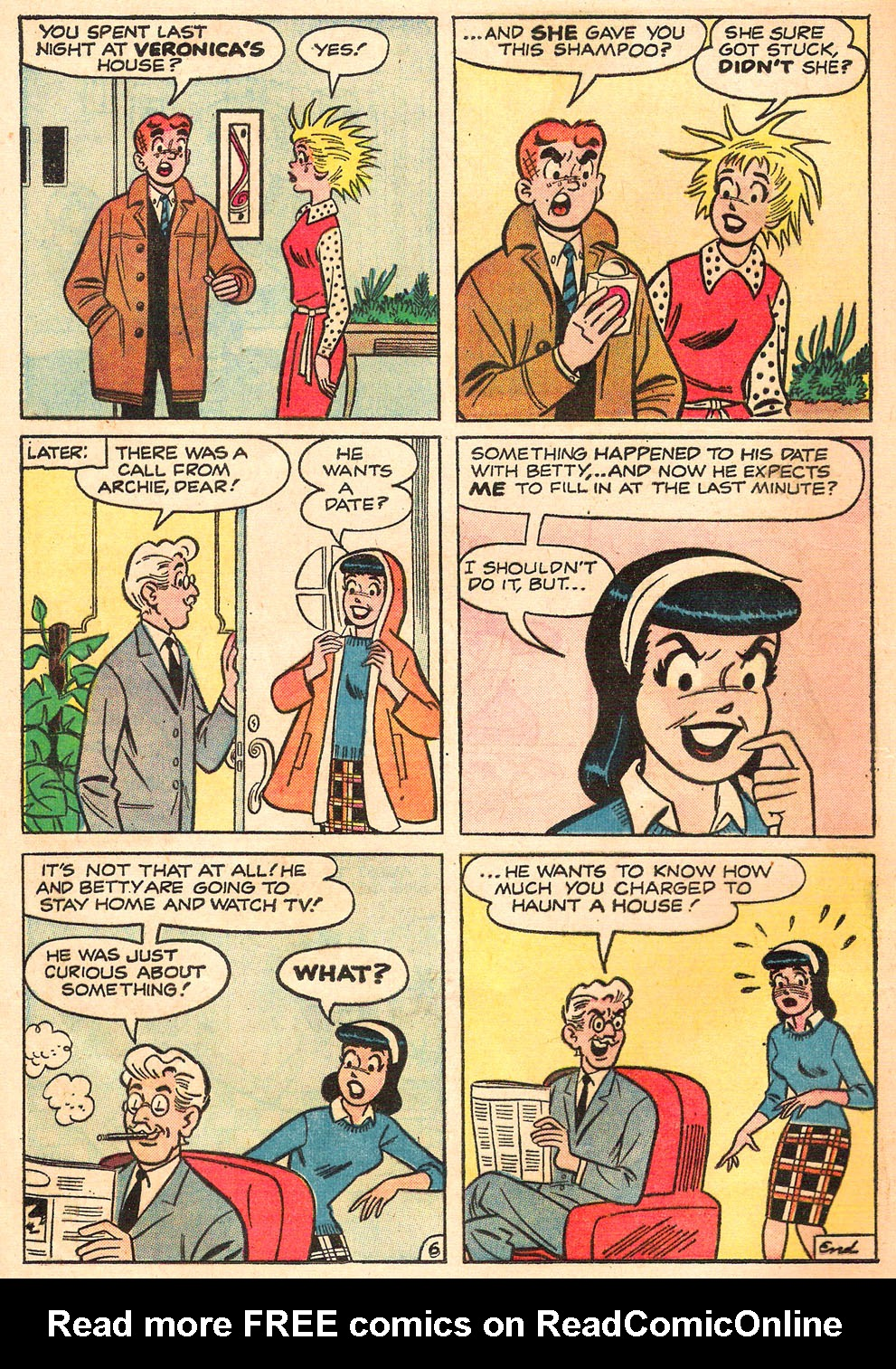 Read online Archie's Girls Betty and Veronica comic -  Issue #98 - 8