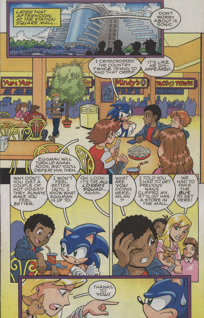 Read online Sonic X comic -  Issue #36 - 11