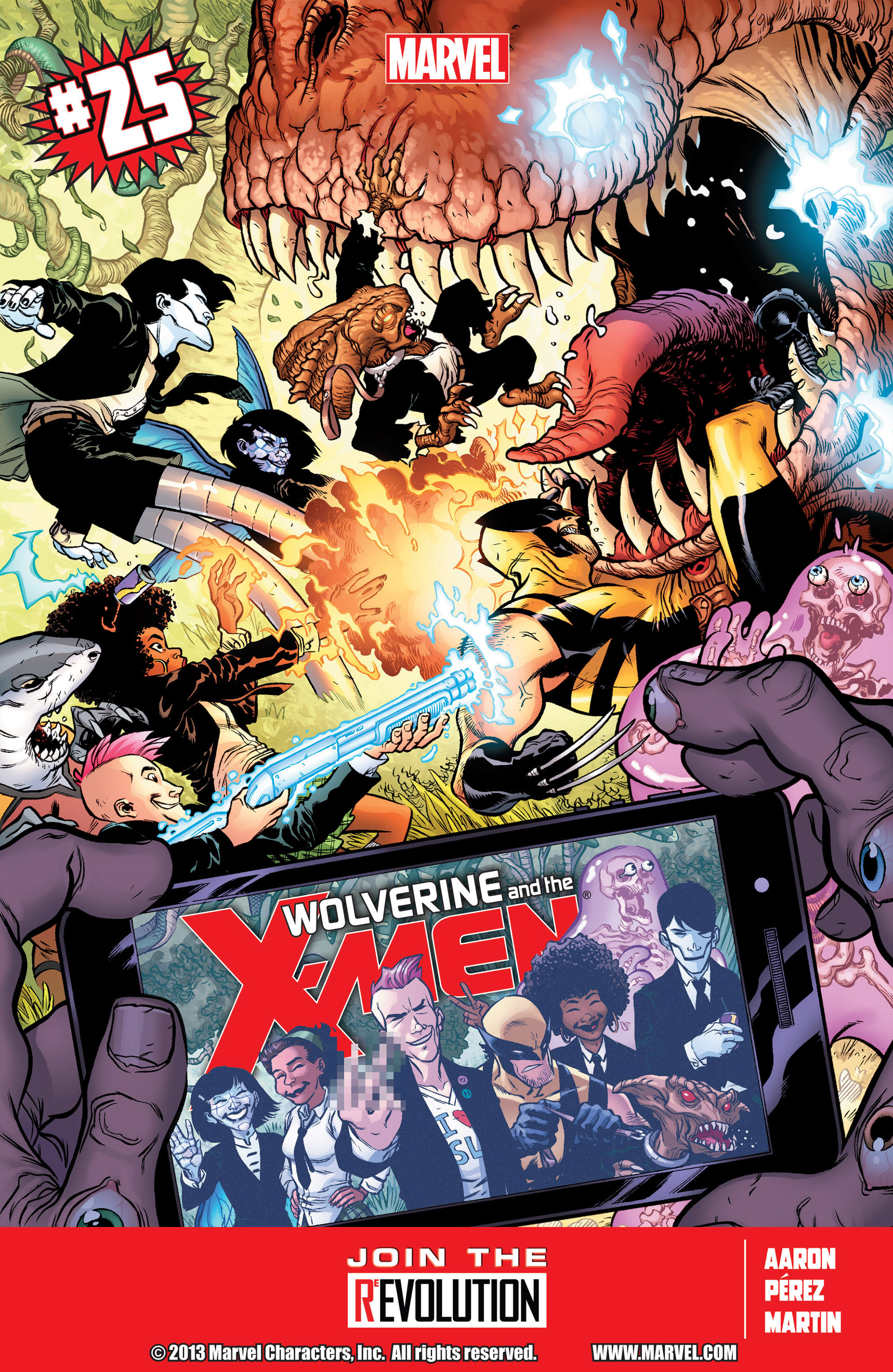 Wolverine & The X-Men 25 Page 1