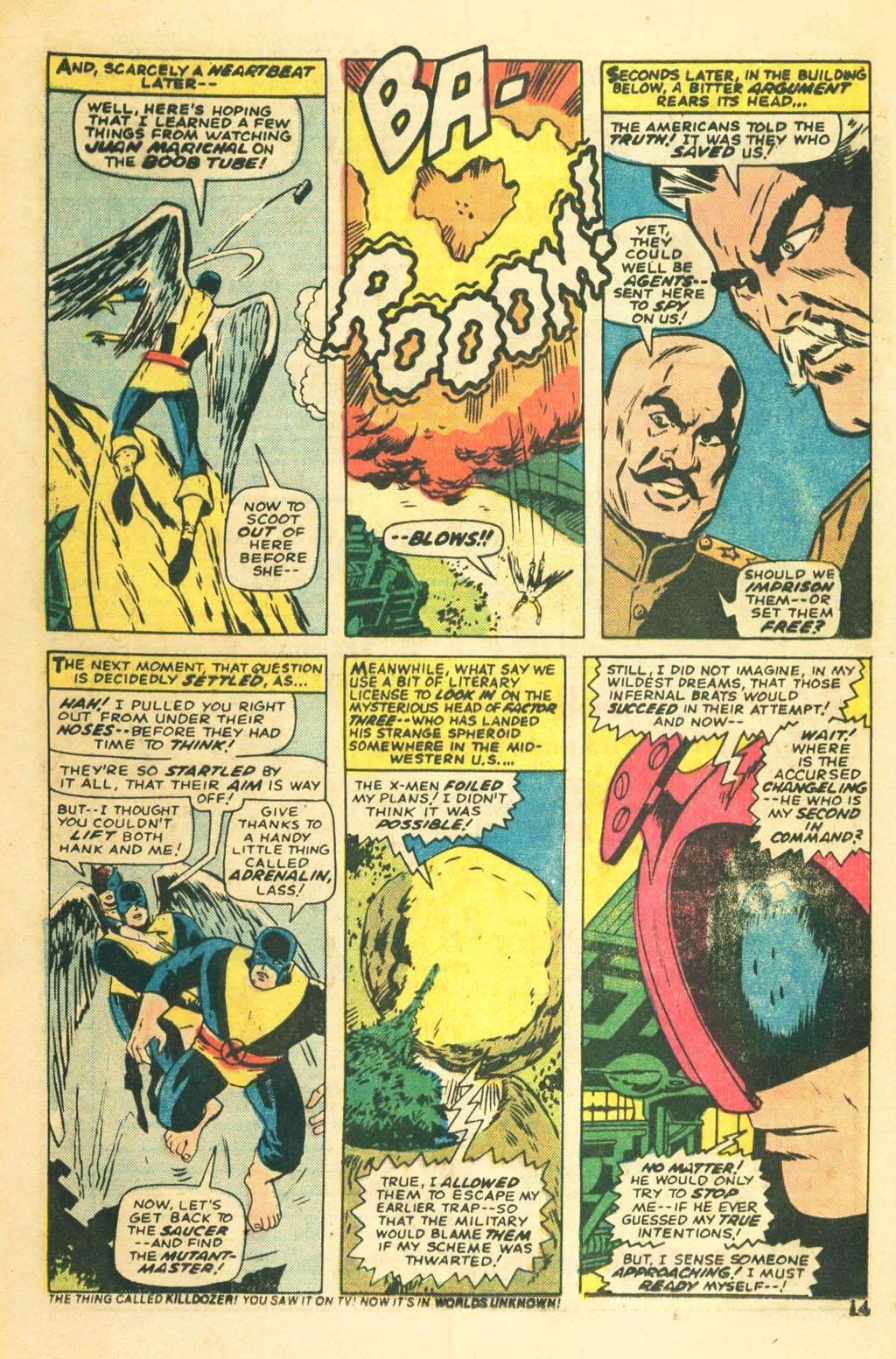 Read online Uncanny X-Men (1963) comic -  Issue #87 - 16
