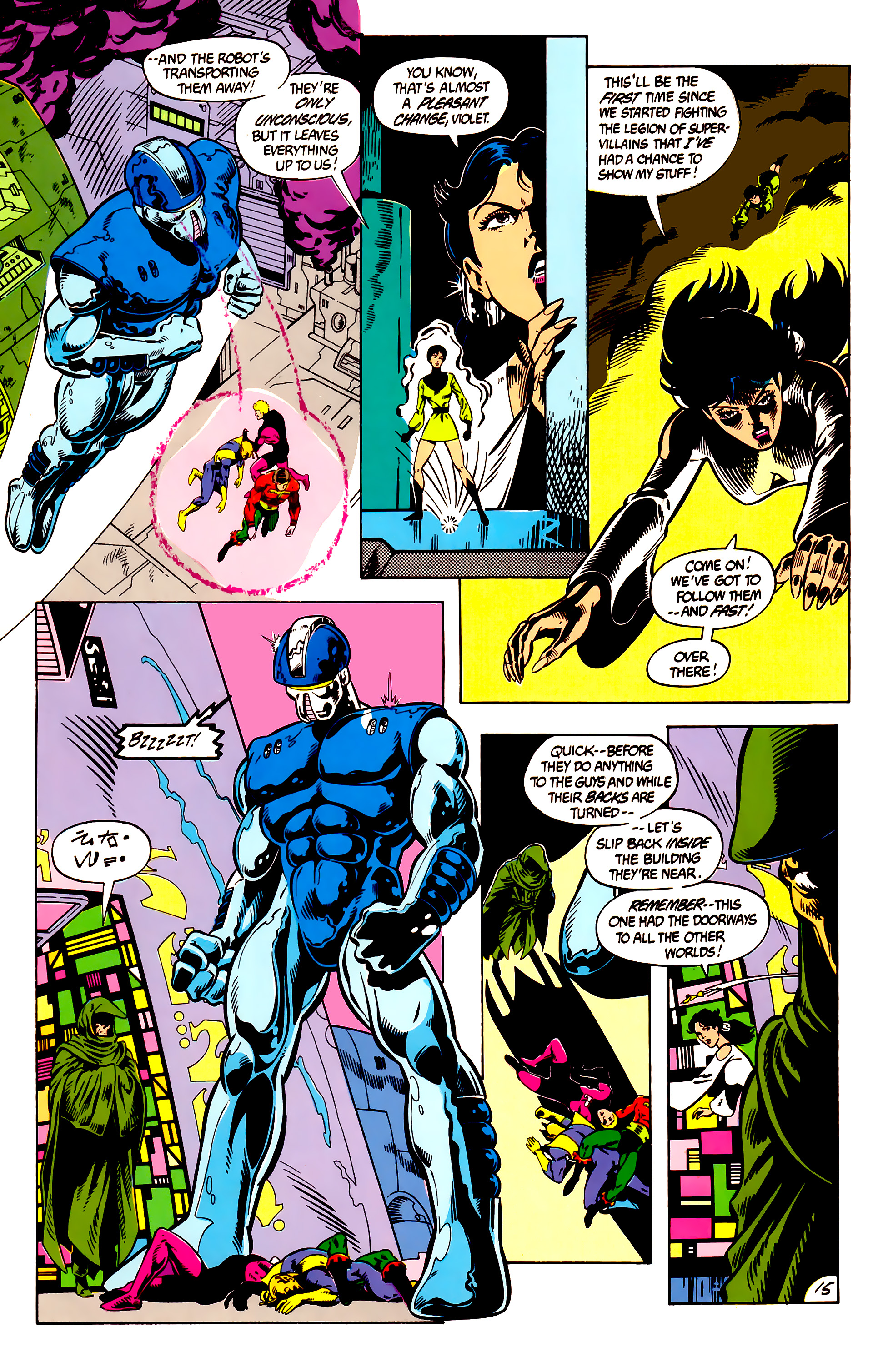 Legion of Super-Heroes (1984) 8 Page 16