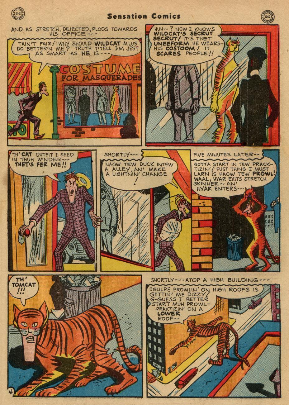 Read online Sensation (Mystery) Comics comic -  Issue #49 - 45