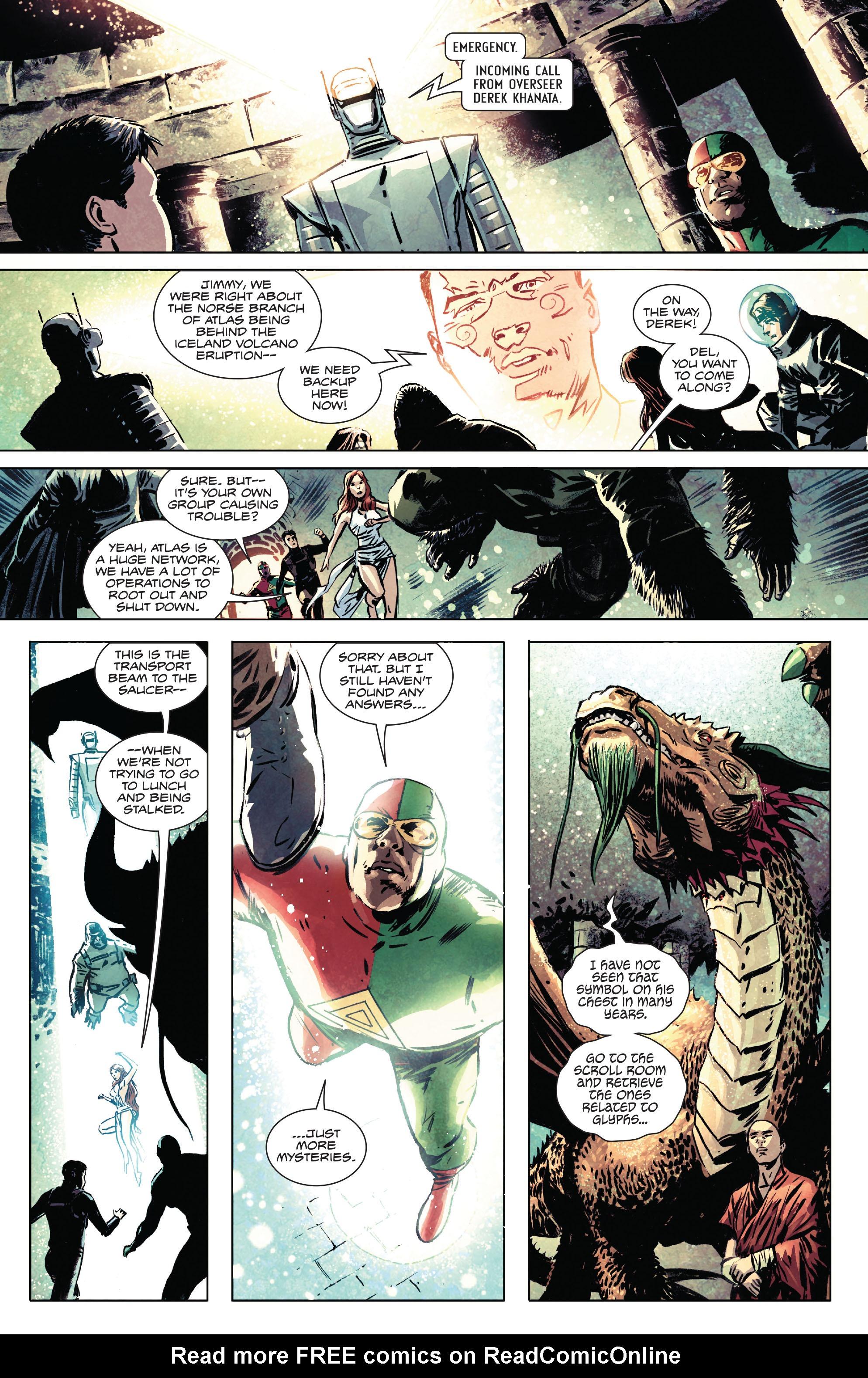 Read online Atlas comic -  Issue #2 - 12