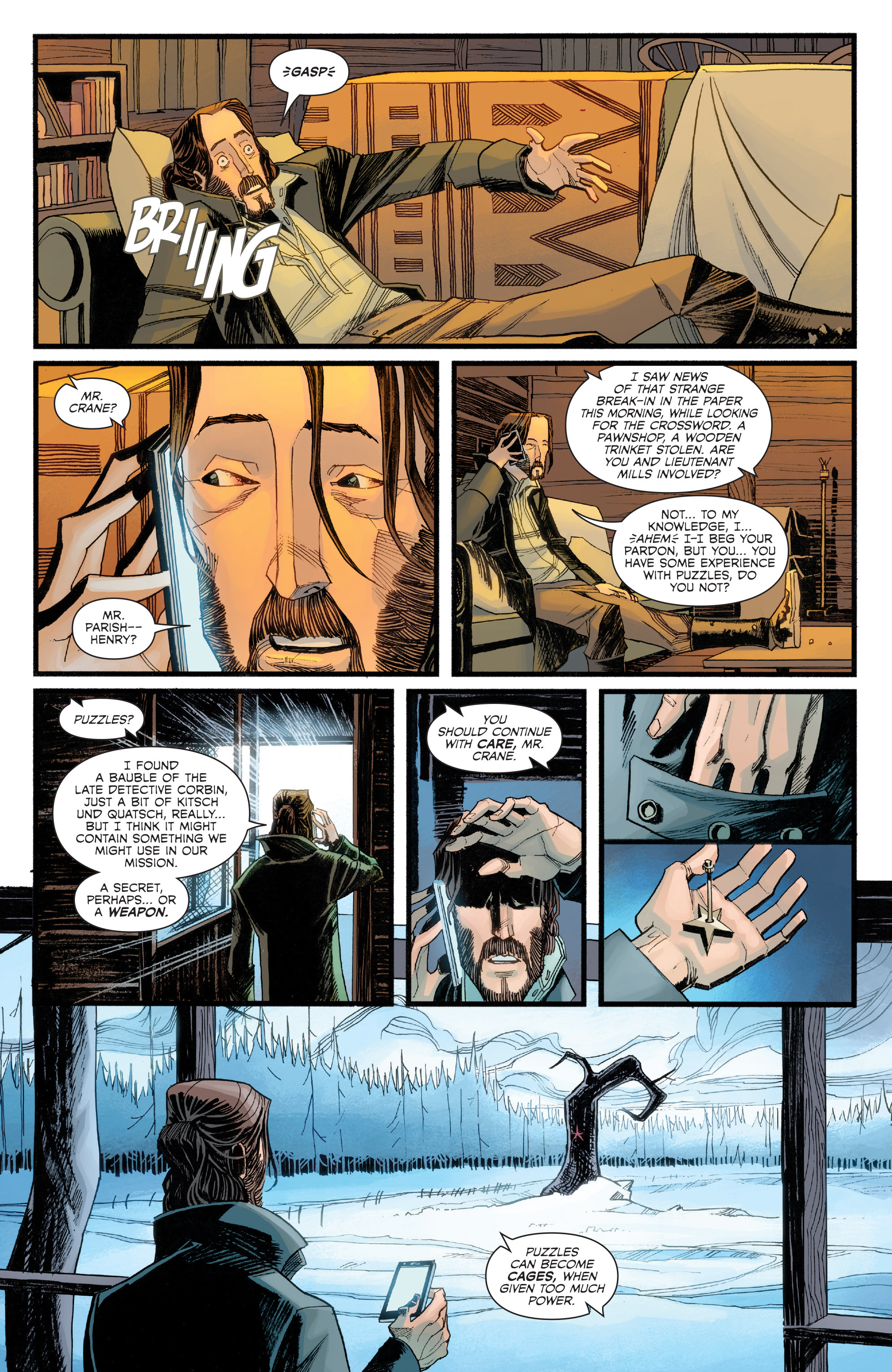 Read online Sleepy Hollow (2014) comic -  Issue #2 - 9