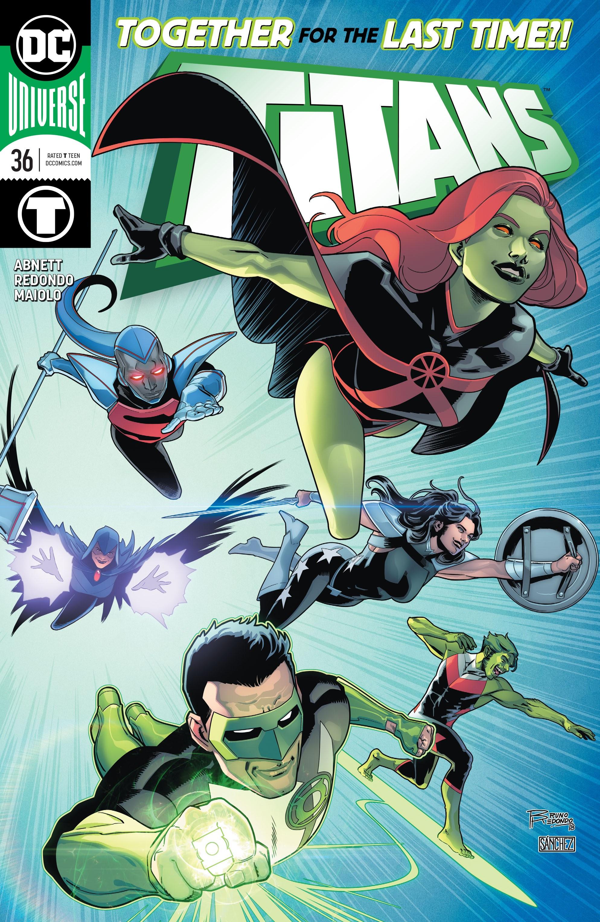 Titans (2016) 36 Page 1