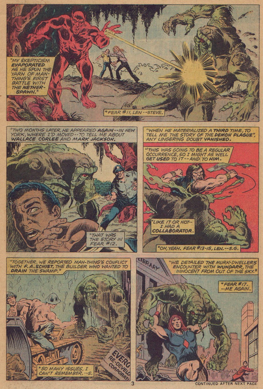 Man-Thing (1974) issue 22 - Page 4