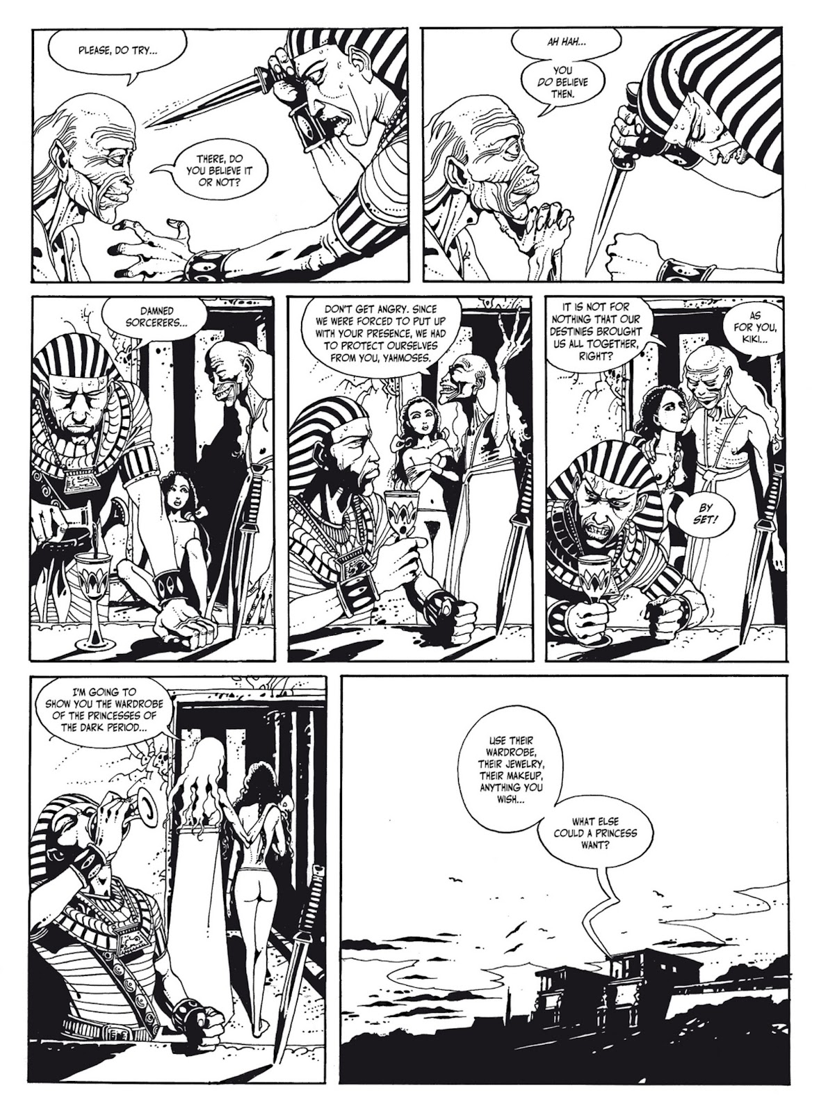Read online The Egyptian Princesses comic -  Issue # TPB 1 (Part 1) - 72