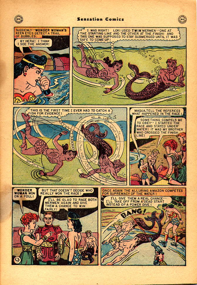Read online Sensation (Mystery) Comics comic -  Issue #83 - 11