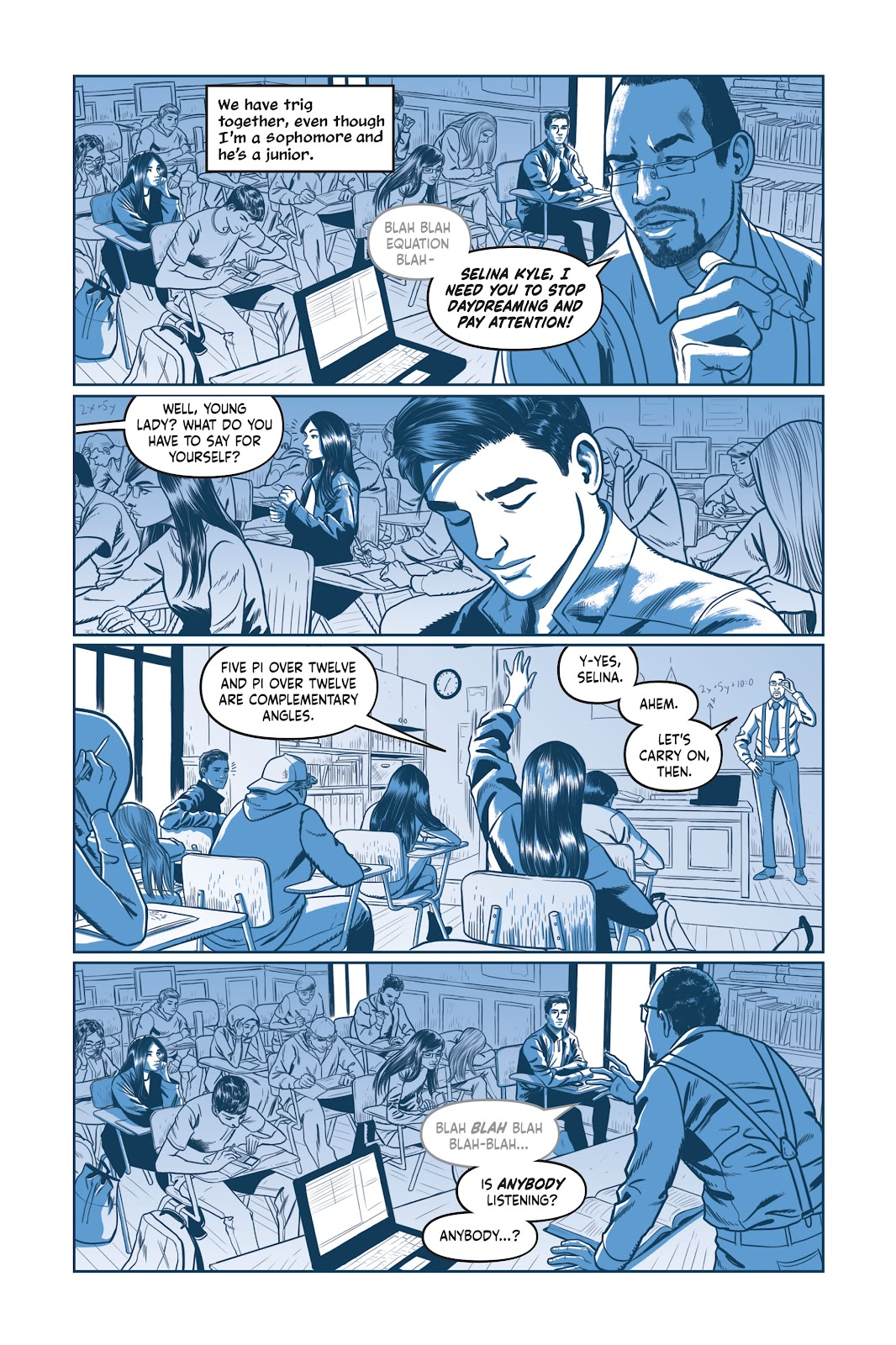Read online Under the Moon: A Catwoman Tale comic -  Issue # TPB (Part 1) - 35