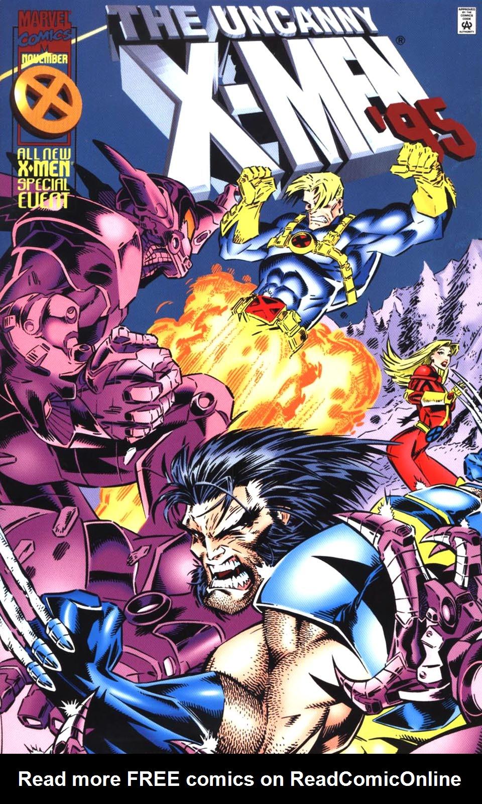 X-Men Annual 19 Page 1