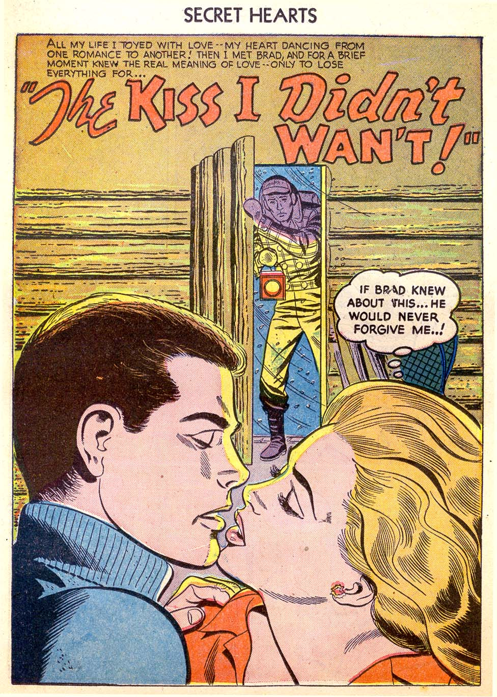 Read online Secret Hearts comic -  Issue #26 - 26