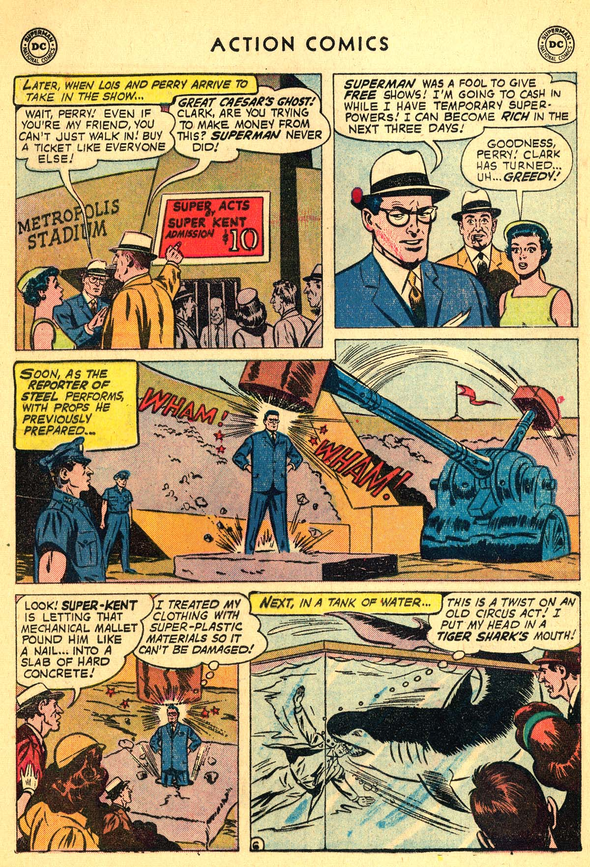 Read online Action Comics (1938) comic -  Issue #257 - 8