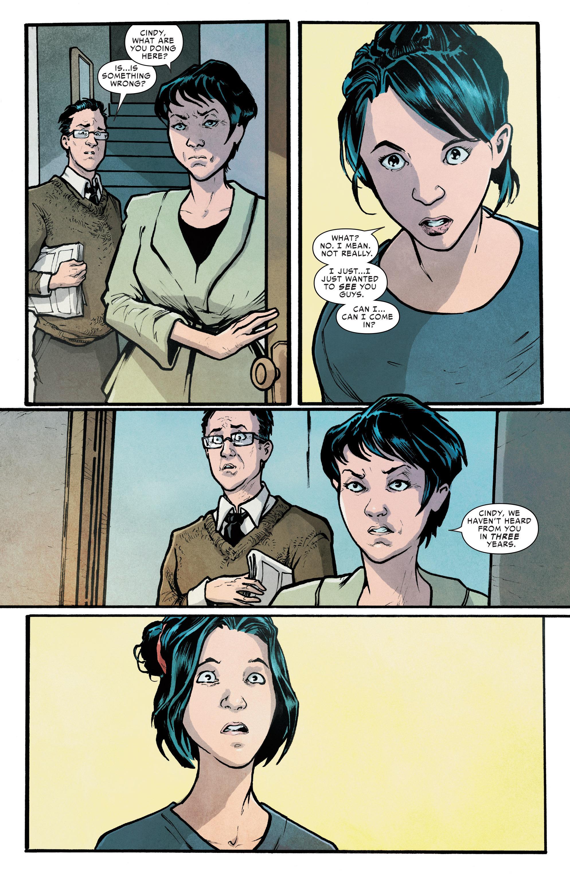 Read online Silk (2016) comic -  Issue #7 - 9