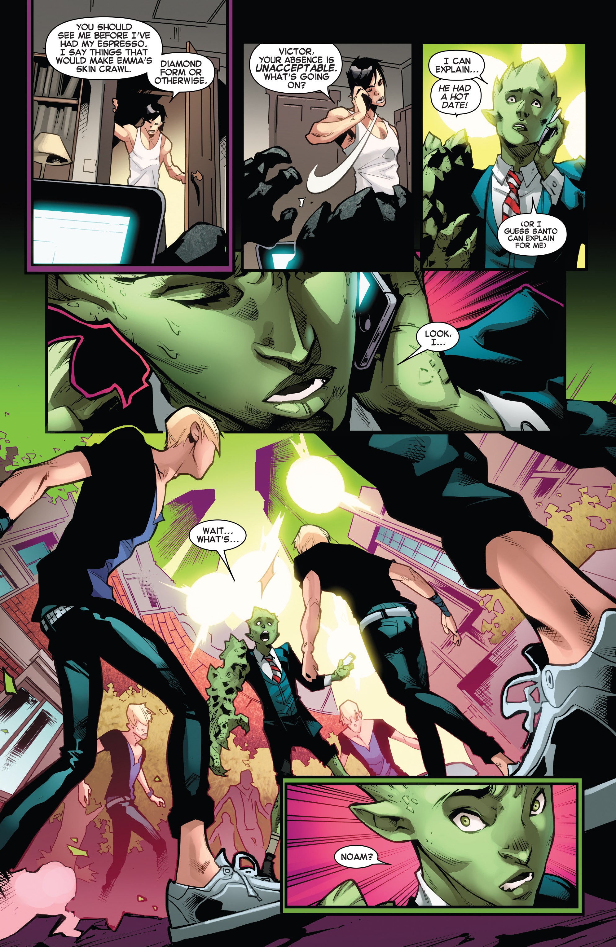 Read online Amazing X-Men (2014) comic -  Issue #13 - 8